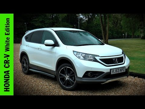 Honda CR-V White Edition Review