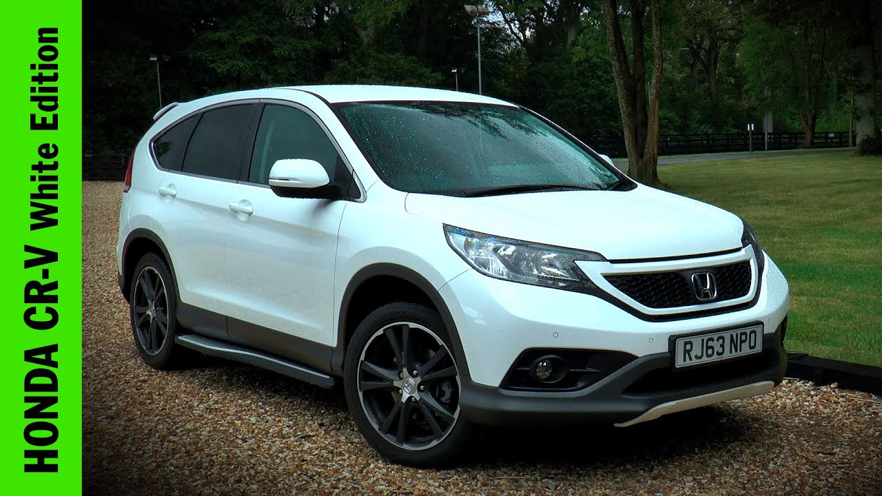 Honda cr v white edition review youtube for Honda crv 2016 white