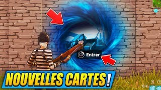 "THE TWO NEW CARTES of the ""SAISON 5 COMBAT PAS"" on FORTNITE Battle Royale! 😱?"