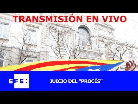 """Nueva sesión del juicio del """"procés"""" en el Tribunal Supremo"""