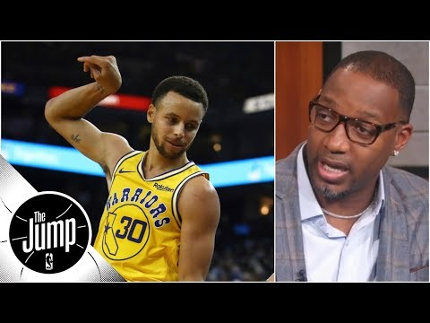 Tracy McGrady on Stephen Curry: 'How could he not be' MVP candidate? | The Jump