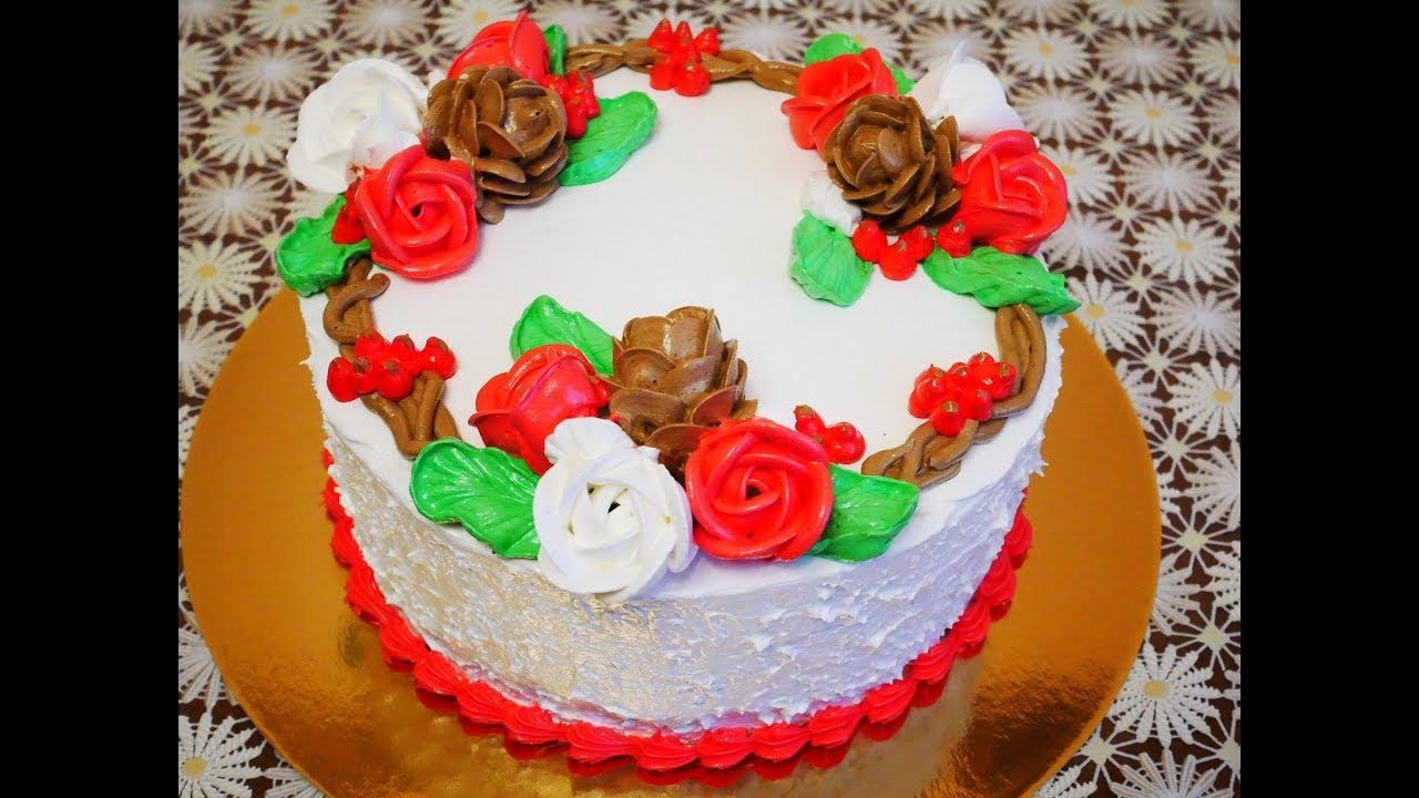 Торт КРАСНЫЙ БАРХАТ торт рецепт НОВОГОДНЕЕ УКРАШЕНИЕ торта ...