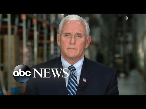 Pence gives possible COVID-19 timeline, urges everyone to do their part
