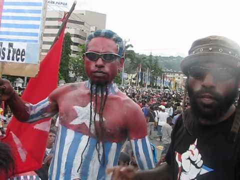 KNPB: Thousands People of West Papua Demand Referendum 14 Nov 2011