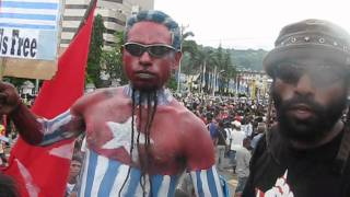 KNPB: Thousands People of West Papua Demand Referendum 14 Nov 2011