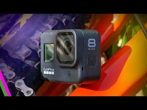 GoPro Hero 8 Black // Mountain Biking Review w/ HyperSmooth 2.0