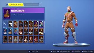 Fortnite account sell !!! ( Season 1 ACC + Gingerbread Skin )