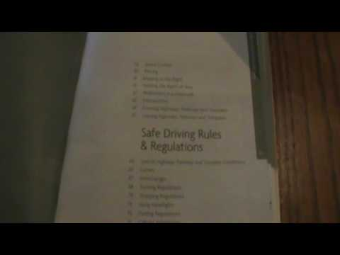 New Jersey Motor Vehicle Manual Review 8