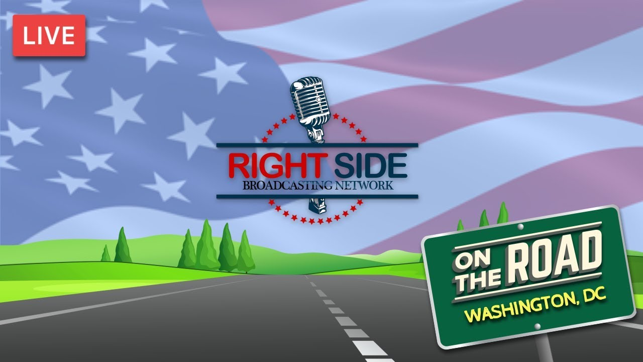 RSBN on the Road LIVE from the National Mall in Washington, DC