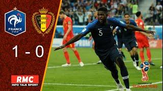 France - Belgique (1-0) | Match replay avec le son RMC