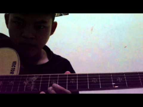 Tutorial gitar solo (interlude) - Dekat di hati