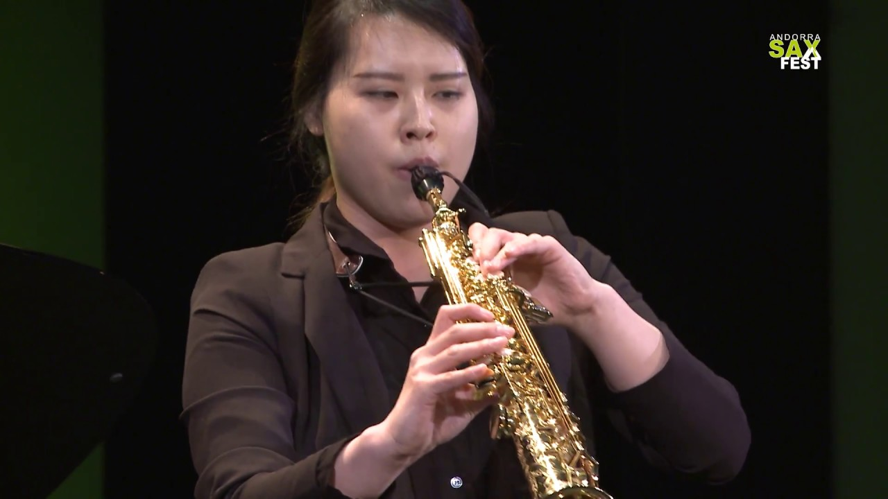 HYEONJEONG LEE - FIRST ROUND - IV ANDORRA INTERNATIONAL SAXOPHONE COMPETITION 2017
