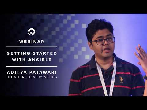 Getting Started with Ansible - Webinar by DevOps consultant Aditya Patawari