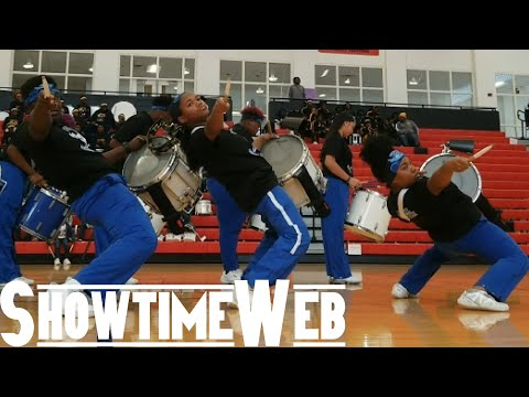 Newton County High School Drumline - Dutchtown High Drumline Competition 2019