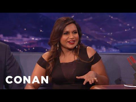 Mindy Kaling Loves McDonald's  CONAN on TBS