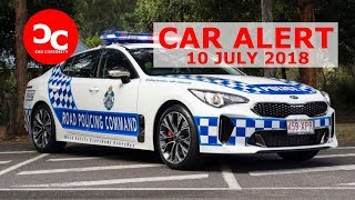 The Kia Stinger GT is now a police car