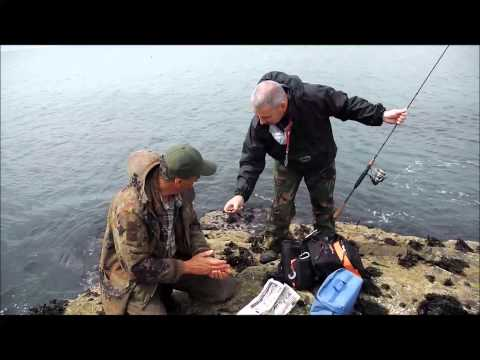Light Rock Fishing In Wales LRF Ravens Point  Trearddur Bay Angelsey