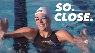 Sarah Sjostrom's 52.08 100m Freestyle (Near World Record)