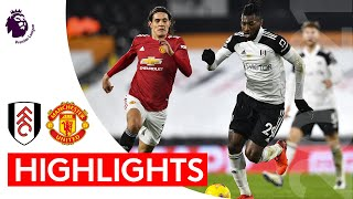 Fulham 1-2 Manchester United   Premier League Highlights   Slender defeat to table-topping United