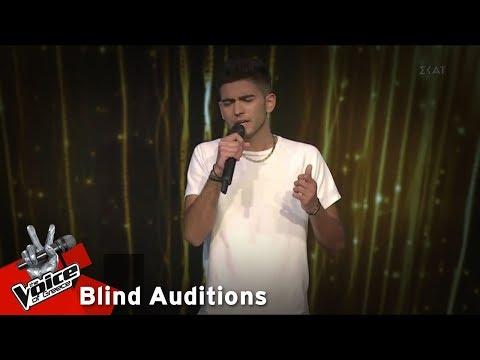 Νίκος Κωσταγιός - Εθνική Οδός | 12o Blind Audition | The Voice of Greece