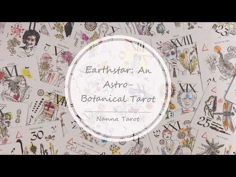 開箱  地球之星塔羅牌 • Earthstar: An Astro-Botanical Tarot  // Nanna Tarot