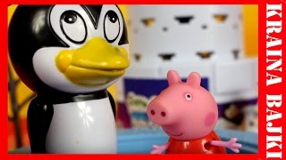 Świnka Peppa & My Little Pony vs Wyskakujący Pingwinek | Wycieczka do ZOO | Bajka po polsku