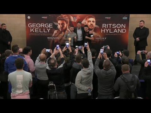 Launch presser - Josh Kelly and Lewis Ritson co-headline our June 16 Newcastle show!
