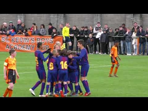 Academy cup final 2018 SKB vs Barcelona.