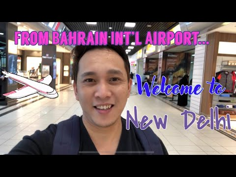 India Travel Vlog Part 2 (New Delhi Agra Jaipur)  - Bahrain Airport to New Delhi