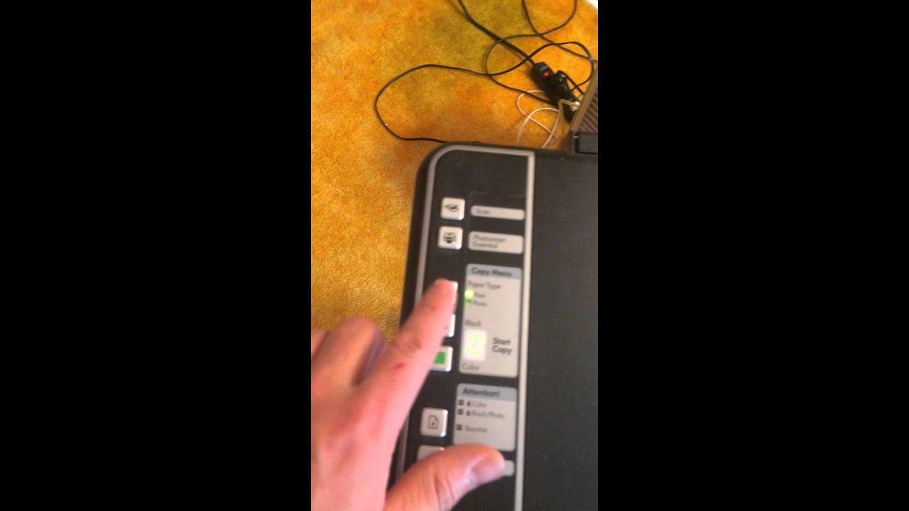 Hp Deskjet F4180 Youtube