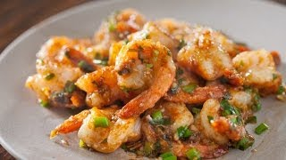 Garlic Ginger Shrimp Stir fry Recipe