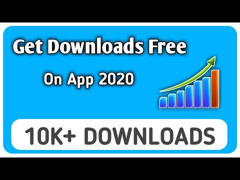 How To Get Downloads On App 2020 | Best Way To Promote App Free