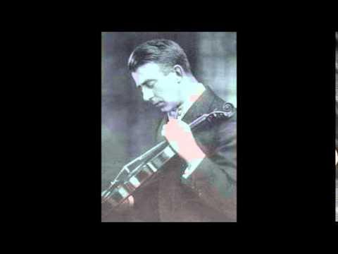Franck Violin Sonata (Arthur Catterall, 1923-24)