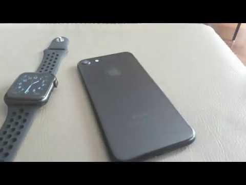 Iwo8 Smartwatch - Conexão Com IPhone 7