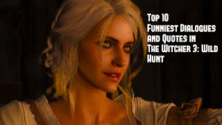 Top 10 Funniest Dialogues and Quotes in The Witcher 3: Wild Hunt