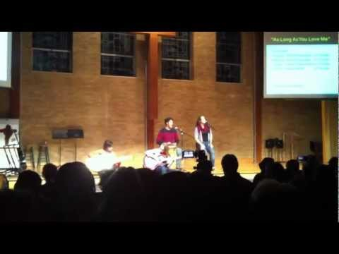 As long as you love me at the Eastbrook Academy Talent Show