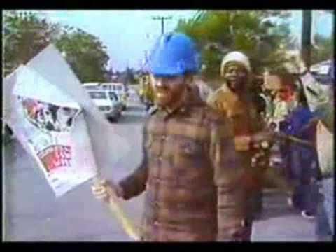 """Death to the Ku Klux Klan!!"" KKK+Police vs Blacks+Communists"