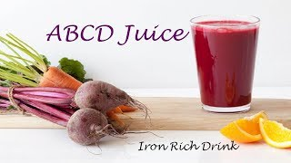 ABCD Juice - ABCD Juice Recipe in Tamil - Iron rich drink - Traditional Cuisine