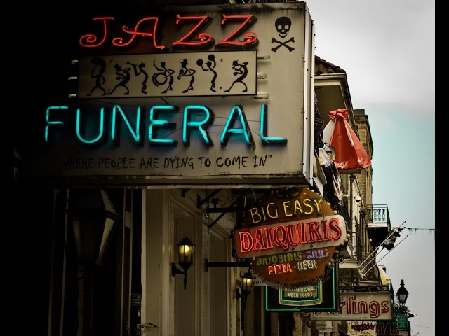 The Funeral on Bourbon Street
