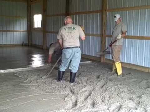 Earnhart Barn Floor June 2009 - Youtube