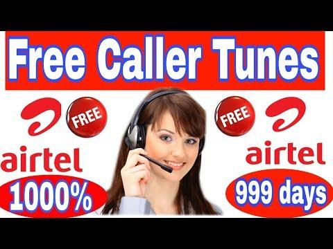 Airtel me Free Caller Tune kaise Lagaye  How to get Free caller Tune in AIRTEL