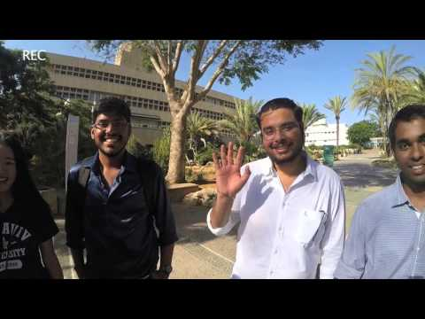 TAU International students from India, shares their experience at Tel Aviv University