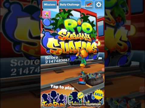 How Download And Install Subway Surfers Rio Mod Version+GAMEPLAY