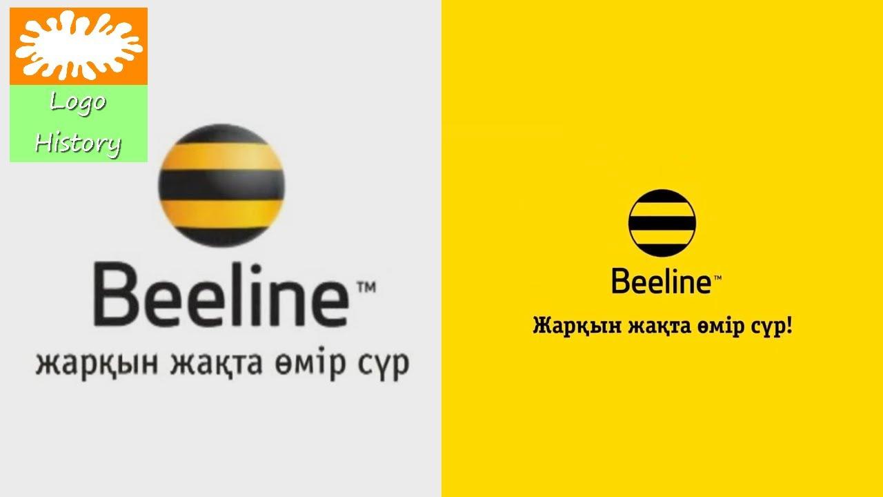 Beeline Kazakhstan Logo History Reimproved
