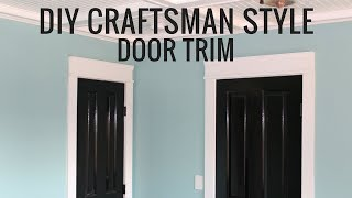 Craftsman Style Door Trim