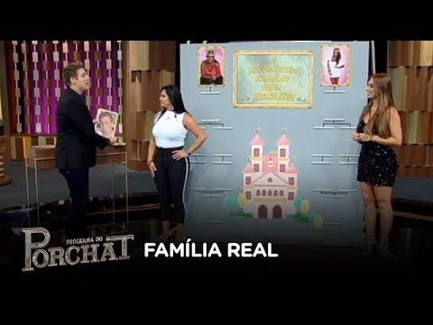 Gretchen e Nicole Bahls se divertem em brincadeira