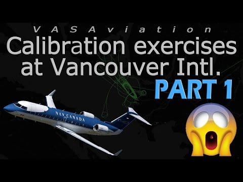 [RARE ATC] Nav Canada CRJ200 CALIBRATING At Vancouver!