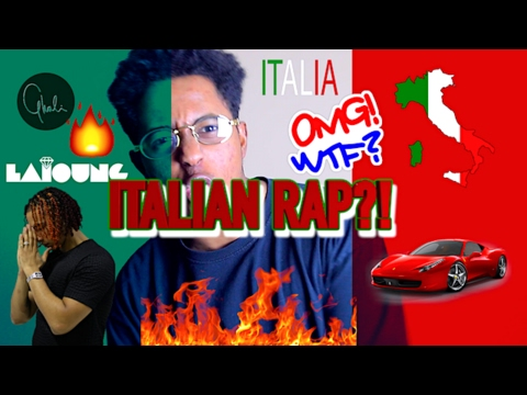 FIRST REACTION TO ITALIAN RAP/ HIP HOP