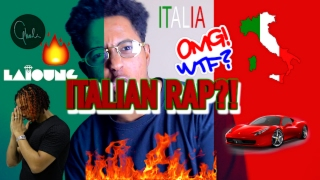 FIRST REACTION TO ITALIAN RAP/ HIP HOP