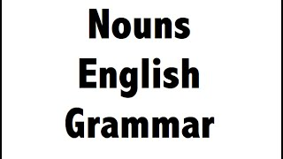 Nouns - English Grammar - Error Spotting For SSC , Bank PO , IBPS Clerk , BBA , CLAT, NET